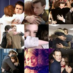 Doctor Who hugs…I need one. Especially after watching the Christmas special