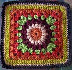 Crochet Squares, Crochet Granny, Granny Squares, Crochet Motif, Crochet Doilies, Knit Crochet, Crochet Patterns, Afghan Crochet, Crochet Blankets