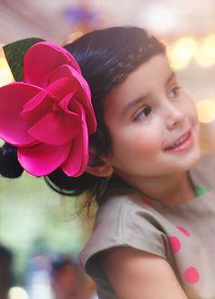 Joyfolie Camelia clip. For a birthday princess! Children's fashion.