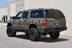 lifted camo suburban | 2000 CHEVROLET SUBURBAN Lot 334.2 | Barrett-Jackson Auction Company