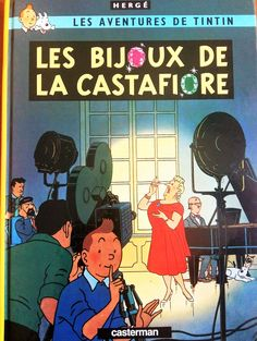 Les bijoux de la Castafiore, Les Aventures de Tintin- Italian edition 1963, excellent condition, one of my favorites.