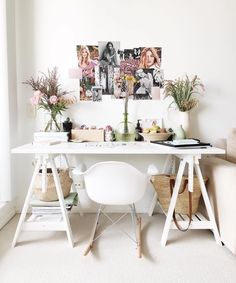 These 10 Pieces Are Our 2017 #ApartmentGoals #refinery29  http://www.refinery29.com/apartment-investment-pieces#slide-13  A DeskActing like a responsible adult requires a lot of work — personally and professionally. What better way to bask in your grownup-ness than to create your very own home office, courtesy of a chic desk setup? Even if you never plan on working remotely, at least you'll have a pretty place to pay the bills. ...