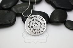 HandStamped My Love For You Is A Journey by MyHeroCreations, $25.00