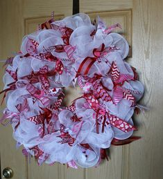 Valentine Wreath by Mady Bella Designs