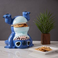Tricks for treats? | Disney Lilo & Stitch Handstand Cookie Jar - BoxLunch Exclusive