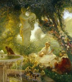 Gaston La Touche - The fairy garden