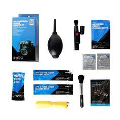 VSGO DKL-6 Multifunctional 9-in-1 Protable Camera Cleaning Kit for DSLR SLR Lens Sensor Screen
