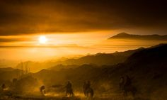Dawn riders, Mount Bromo, Java, Indonesia   Travel Photo of the Year 2012 – Landscape   Wanderlust