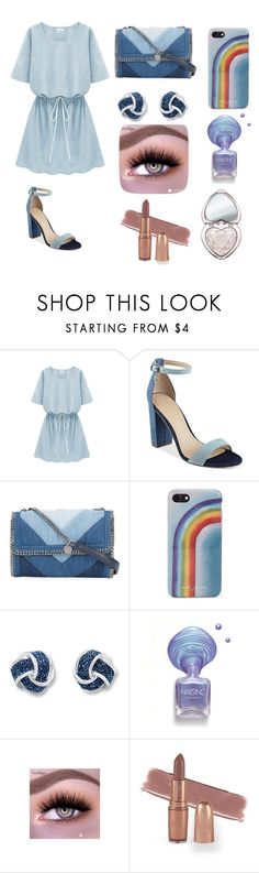 """Untitled #18"" by xdhx16 ❤ liked on Polyvore featuring GUESS, STELLA McCARTNEY, Marc Jacobs and Too Faced Cosmetics"