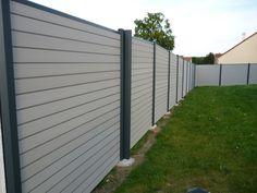 2ème partie de la clôture finie - Ma maison contemporaine par Lillou sur ForumConstruire.com