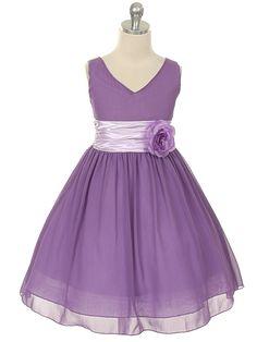 Knee-length - Junior Bridesmaid Dresses