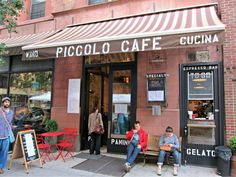 Piccolo Cafe on the upper west side in NYC