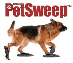Pet Sweep coloca seu melhor amigo pra limpar a casa pra você!