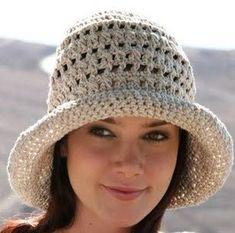 Yazlık Örgü Şapka Modelleri | Hobilendik.net