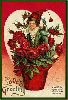 sweet vintage valentine