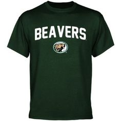 NCAA Bemidji State Beavers Mascot Logo T-Shirt - Green  $18.95