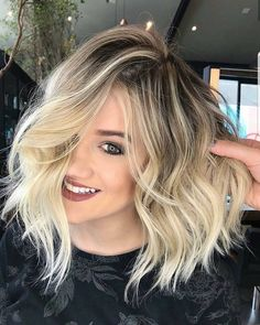 "4,364 Likes, 25 Comments - ShortHair  PixieCut  Fashion (@nothingbutpixies) on Instagram: ""All About that Blonde Bob Balayage!!!!; @rafaelbertolucci1"""