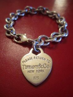 Tiffany Co Vintage Retro Return To Heart Tag Bracelet Love What Is Fashion