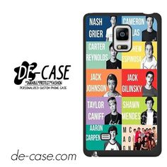 Magcon Boys Love Story DEAL-6773 Samsung Phonecase Cover For Samsung Galaxy Note Edge