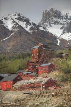 Kennecott Copper Mine near McCarthy Alaska