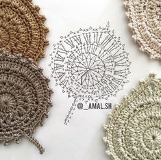 Transcendent Crochet a Solid Granny Square Ideas. Inconceivable Crochet a Solid Granny Square Ideas. Crochet Leaf Patterns, Crochet Leaves, Form Crochet, Crochet Diagram, Crochet Chart, Crochet Motif, Crochet Designs, Crochet Doilies, Crochet Flowers