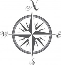 Compass - free vector