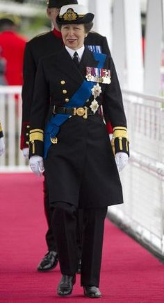 The Thames Diamond Jubilee River Pageant...the Princess Royal: