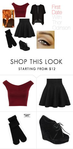 """First Date With Thor"" by lana-86 ❤ liked on Polyvore featuring Miss Selfridge, Aéropostale and Refresh"