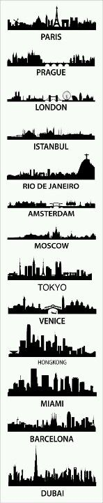 Skylines Build all these iconic cities out of Lite Brix!!!