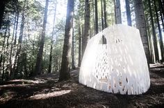 Echoviren: World's First #3DPrinted #Architectural Structure Built in California