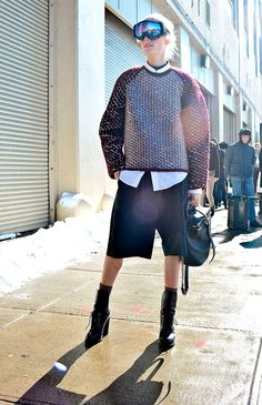 El streetstyle de New York Fashion Week Otono 2013