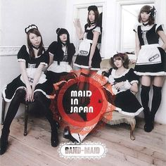 BAND-MAID® - Maid in Japan (2013), streaming on AccuRadio