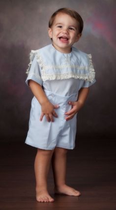 HEIRLOOM BOY'S BUTTON On Outfit Perfect for by ChildrensCottage, $72.00