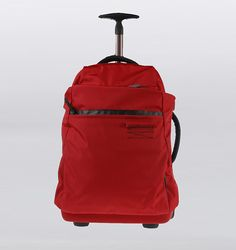 Mandarina Duck Isi 40L Cabin Luggage - Red $325
