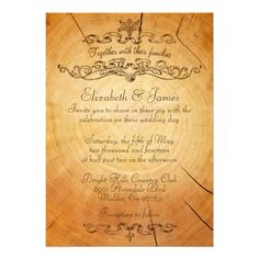 This DealsVintage Tree Rings Wedding Invitations InviteYes I can say you are on right site we just collected best shopping store that have