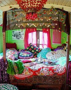 Interior gypsy caravan                                                                                                                                                                                 More