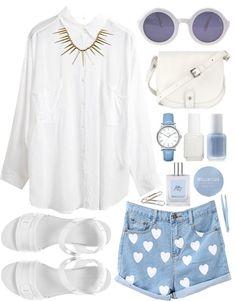White & Blue Set <3