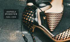 os Achados | Moda | Sophia Webster para J.Crew