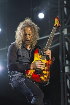 Kirk Hammett of Metallica, shot at SoundWave Melbourne 2013    (c) Daegal Almond