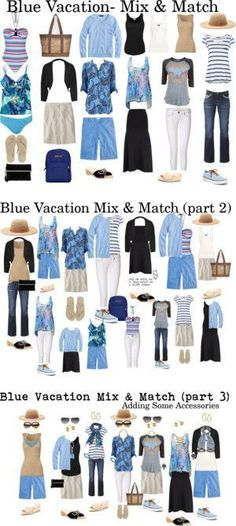10 Travel Tips Even Frequent Travelers Might Not Know! Pack one color scheme. It makes packing and styling so much EASIER!