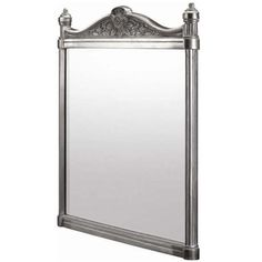 Burlington Georgian Mirror with Aluminium Frame - T37ALU