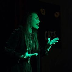 Back again as elphaba with the Impromtu Players at the Wooten Theater,