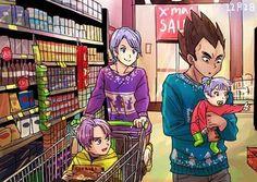 vegeta bulma, trunks y bra Goku, Dbz, Dragon Ball Z, Animated Dragon, Dragon Images, Z Arts, Manga Comics, Anime Love, Akira