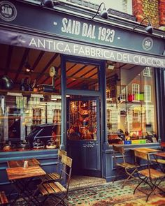 Treat yourself to a luxurious hot chocolate at Said.   17 Things To Do In London If You Don't Drink