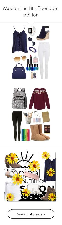 Modern outfits  Teenager edition by ocslover ❤ liked on Polyvore featuring  Sydney Evan cf19e877288f1