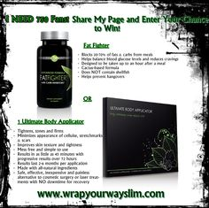 Free Giveaway: One It Works Ultimate Body Applicator OR 1 Month Supply of Ultimate Fat Fighter   Enter Here: http://www.giveawaytab.com/mob.php?pageid=159362567527173