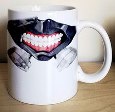 Transform yourself into Kaneki Ken each time you take a sip from this novelty…