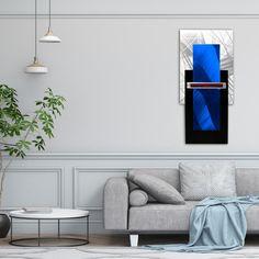 Blue 3D Wall Sculpture,  Abstract Metal Wall Art, Contemporary Wall Sculpture, Modern Metal Art, Minimal Wall Decor, Blue 3D Modern Wall Art Contemporary Wall Sculptures, Contemporary Wall Decor, Metal Wall Sculpture, Modern Wall Art, Abstract Metal Wall Art, Metal Art, Tree Wall Art, 3d Wall, Living Room Bedroom
