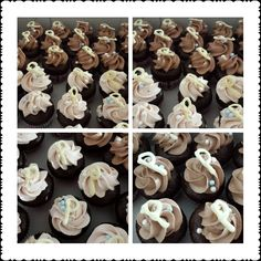 Home made mini cupcakes #eggless #chocolate #cake #sweets #delicious