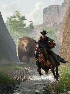 The Treasure of Grizzly Bear Canyon by deskridge on DeviantArt